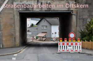 2016 Baustelle Ortskern
