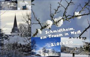 2018 Schmidtheim ein Traum in Weiß