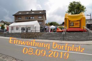 2019 Einweihung Dorfplatz